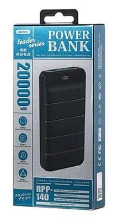 REMAX RPP-140 prenosna baterija, 20.000 mAh