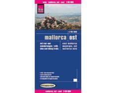 World Maps Malorka východ (Mallorca Ost) 1:40tis turistická skladaná mapa RKH