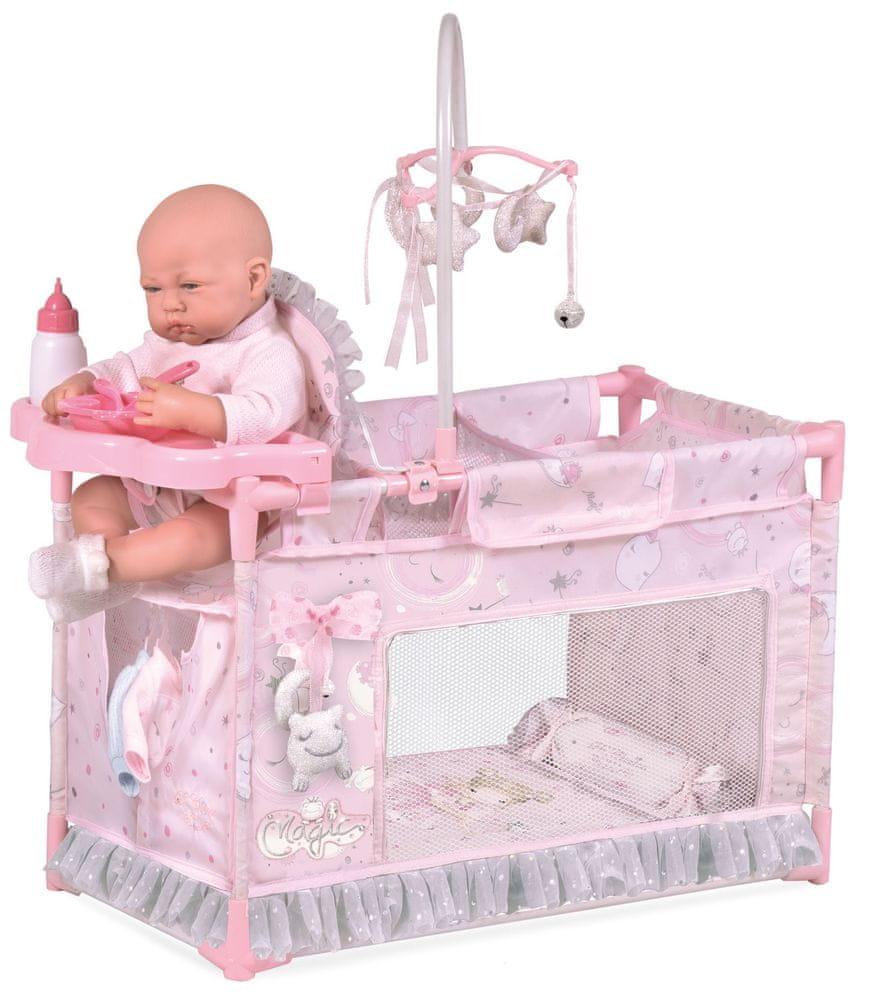 DeCuevas 53134 Moje první postýlka pro panenky s doplňky Magic Maria