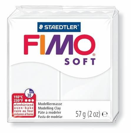 Staedtler FIMO® soft 8020 56g bílá