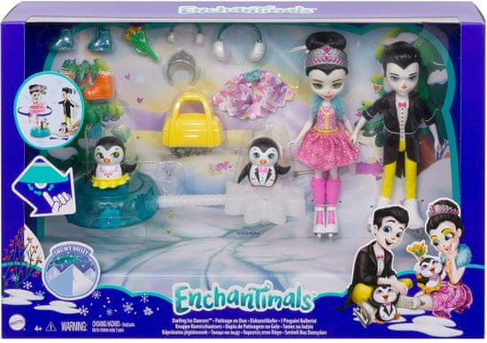 Mattel Enchantimals na drsalkah