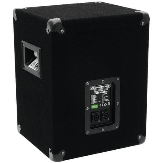 Omnitronic DX-822, reprobox 100W