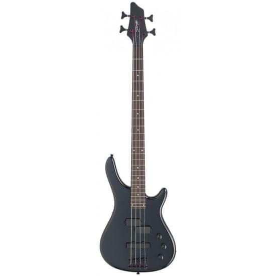 Stagg BC300-BK, elektrická baskytara, černá