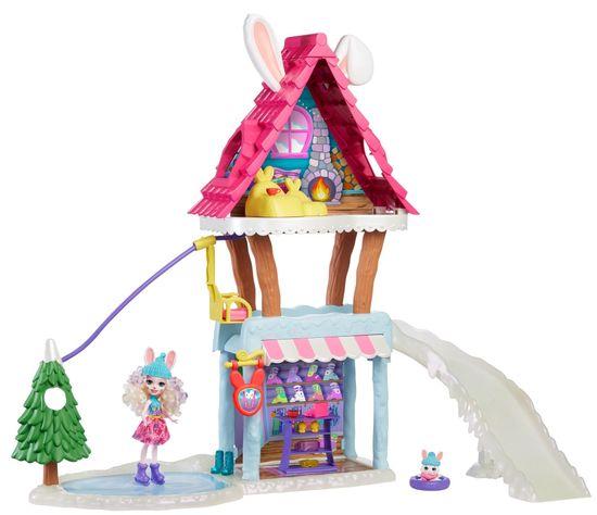 Mattel igralni komplet Enchantimals Planinska koča