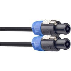 Stagg SSP10SS15, reproduktorový kabel Speakon - Speakon zástrčka, 10m