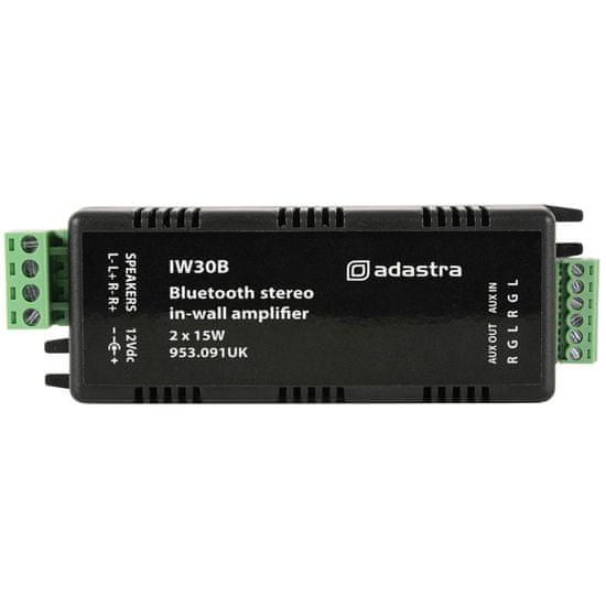 Adastra IW30B, nástěnný zesilovač 2x 15W s Bluetooth