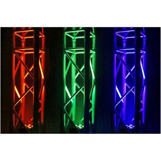 BeamZ Professional BBP66 LED reflektor na baterie, 6x 6W QCL