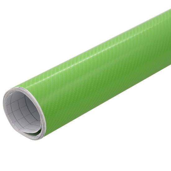 shumee Folija za avto mat 4D zelena 500x152 cm
