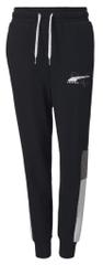 Puma spodnie chłopięce Alpha Sweatpants FL cl B, 128 czarne