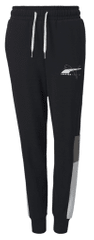 Puma spodnie chłopięce Alpha Sweatpants FL cl B, 110 czarne