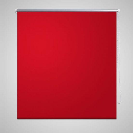 shumee Roleta okienna zaciemniająca czerwona 80 x 230 cm