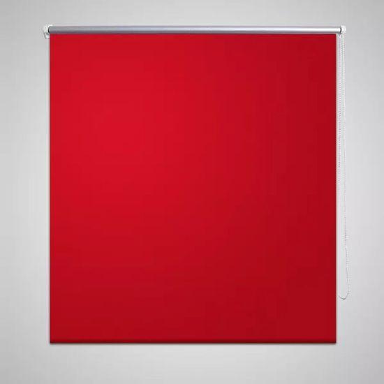 shumee Roleta opuszczana czerwona 140 x 230 cm