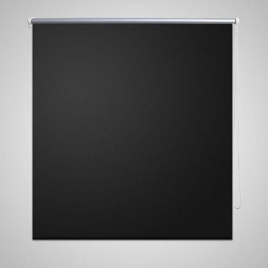 shumee Roleta okienna zaciemniająca czarna 120 x 175 cm
