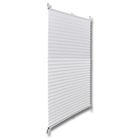 shumee Roleta plisowana, biała (40x125cm).
