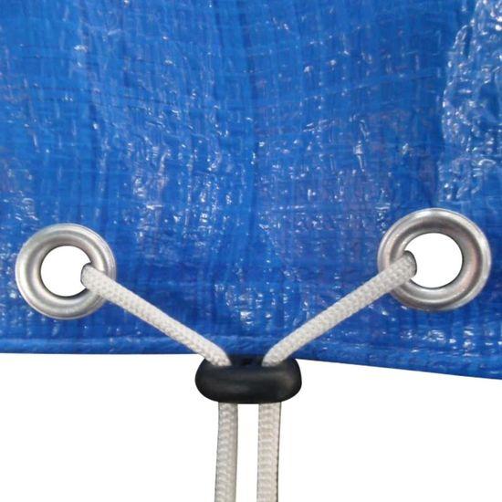 shumee Pokrivalo za trampolin PE 360-367 cm 90 g/m²