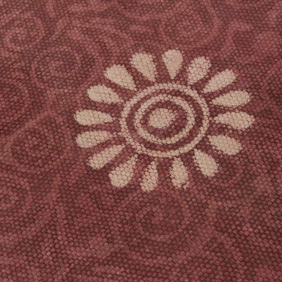 shumee Modularna sedežna garnitura 12-delna iz blaga večbarvna