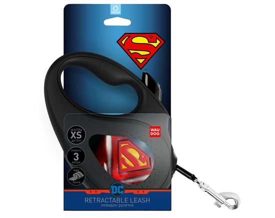 Wau Dog Samonavíjacie vodítko pre psa Superman