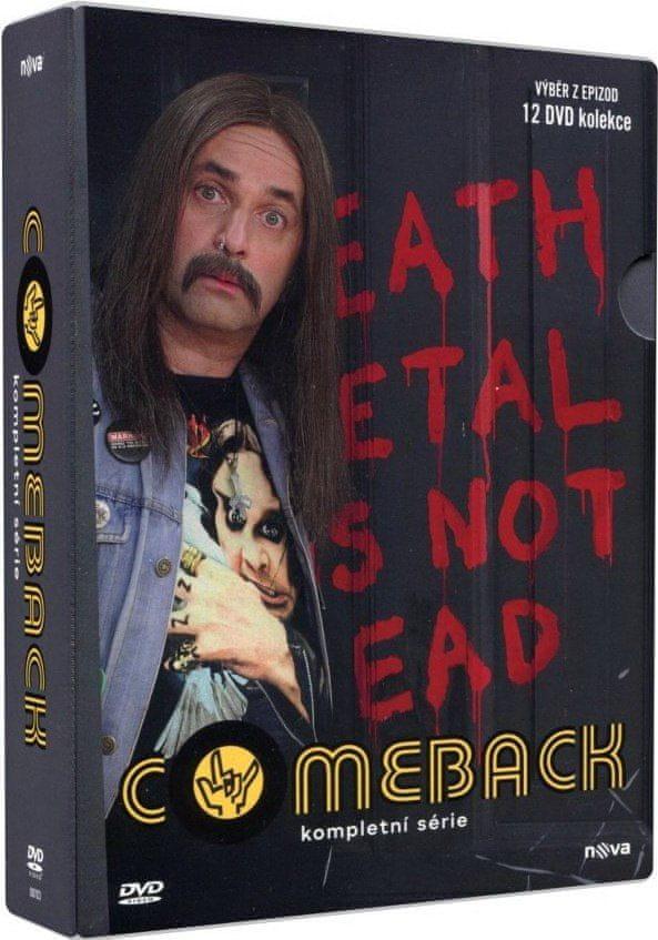 Comeback - kompletní série (12 DVD) - DVD