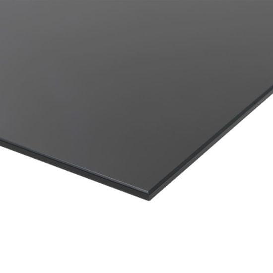 shumee Nástěnná magnetická tabule sklo 50 x 50 cm