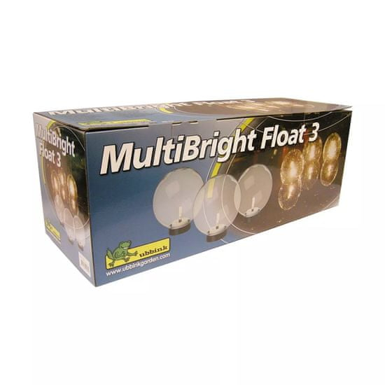 shumee Ubbink Pływające oświetlenie wodne LED MultiBright Float 3, 1354008