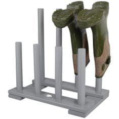 shumee Esschert Design Stojalo za škornje sivo CF48G