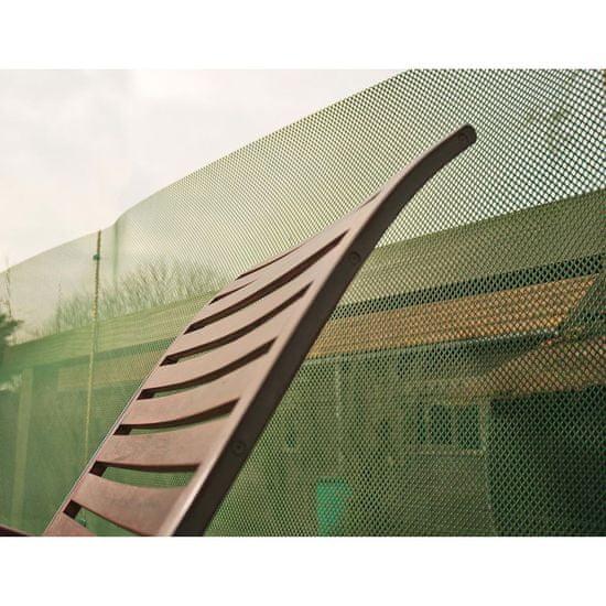 shumee Nature Vrtna pregrada vetrobran PE 1x3 m zelena