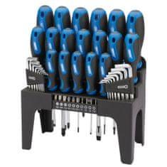shumee Draper Tools 44-delni komplet izvijačev, imbus ključev in nastavkov