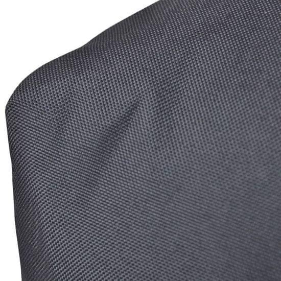 shumee Siva oblazinjena blazina za sedež 120 x 80 x 10 cm