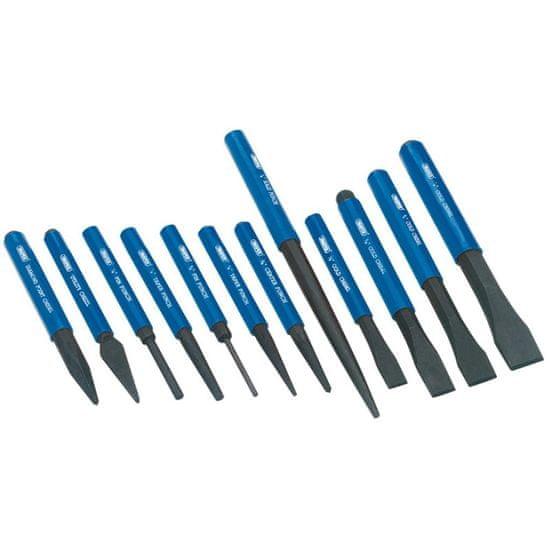 shumee Draper Tools 12-częściowy zestaw dłut do metalu i punktaków, 26557