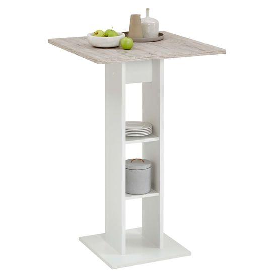 shumee Bar miza za slinavko in parkljevko iz belega in peščenega hrasta