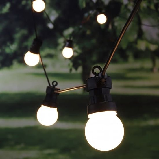 HI LED světelný řetěz s 20 kuličkami 1250 cm
