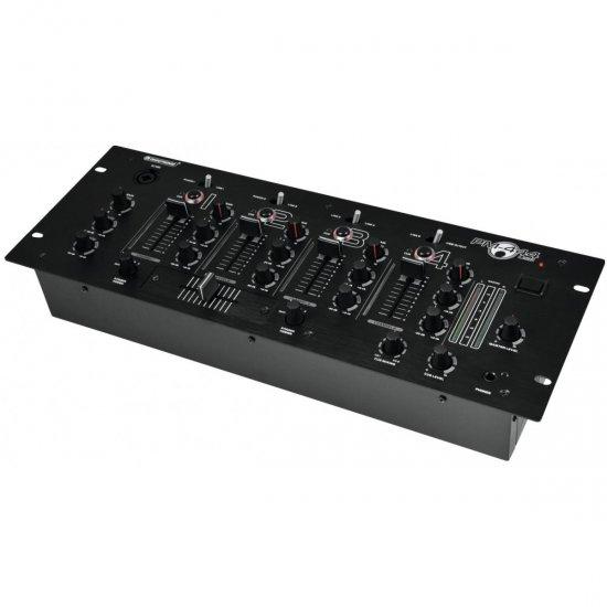 Omnitronic PM-444, 4-kanálový mixážní pult s USB vstupem