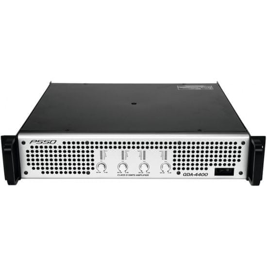 PSSO QDA-4400, zesilovač 4x 1100 W