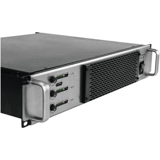Omnitronic A-3603 Class-D , 2.1 zesilovač, 1x 2000 W, 2x 800 W