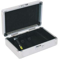 Roadinger LP case Alu pro 3 gramofonové přenosky