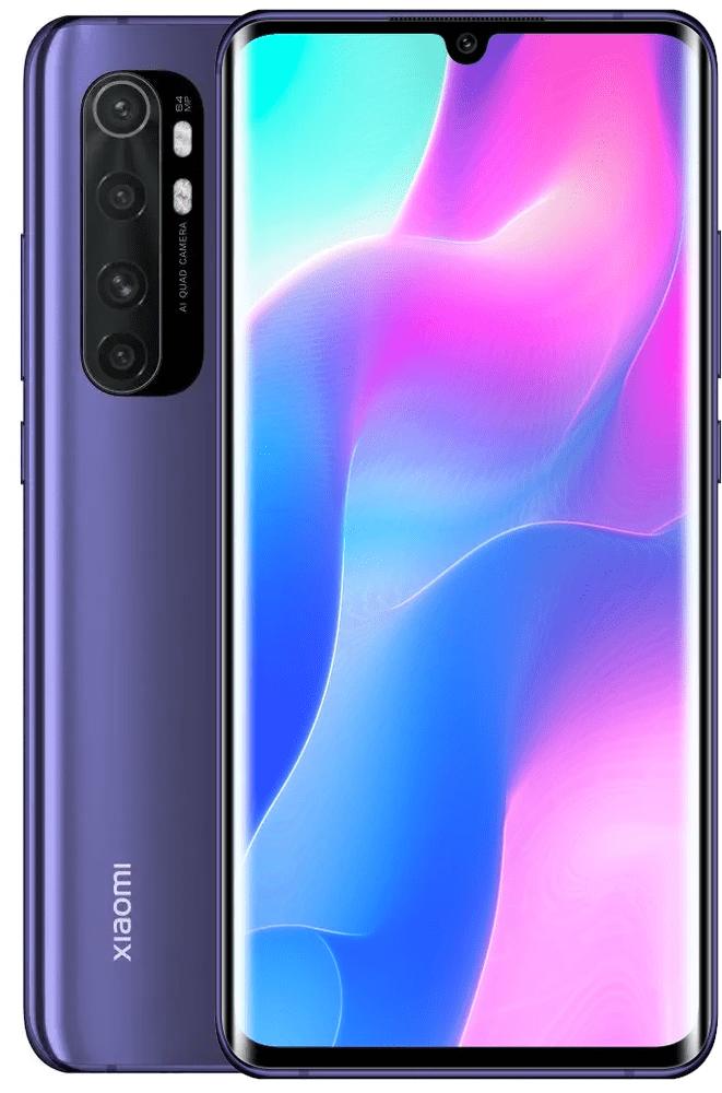 Xiaomi Mi Note 10 Lite, 6GB/64GB, Global Version, Nebula Purple - rozbaleno