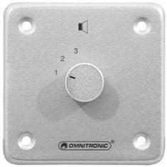 Omnitronic PA stereo programový regulátor