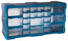 AHProfi Plastový organizér / box na šroubky, 22 rozdělovníků - MW1503