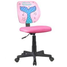 pisarniški stol Persil, roza