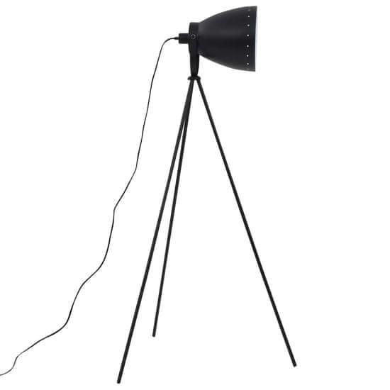 shumee Trinožna stoječa svetilka kovinska črna E27