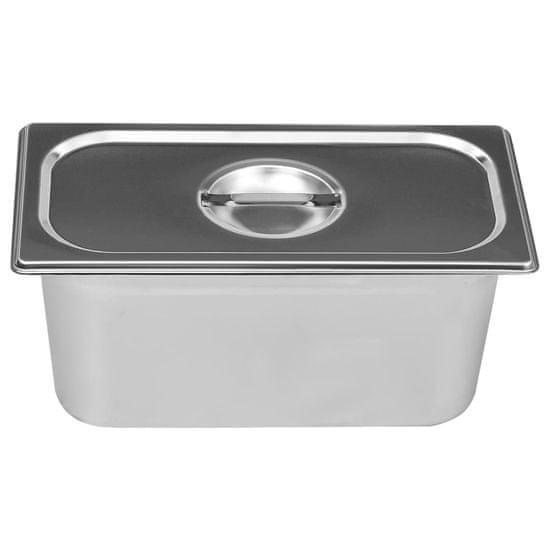 shumee rozsdamentes acél ételmelegítő 1500 W GN 1/3