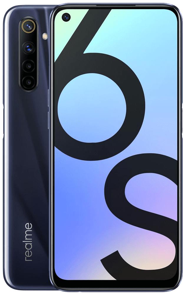 realme 6s, 4GB/64GB, Eclipse Black