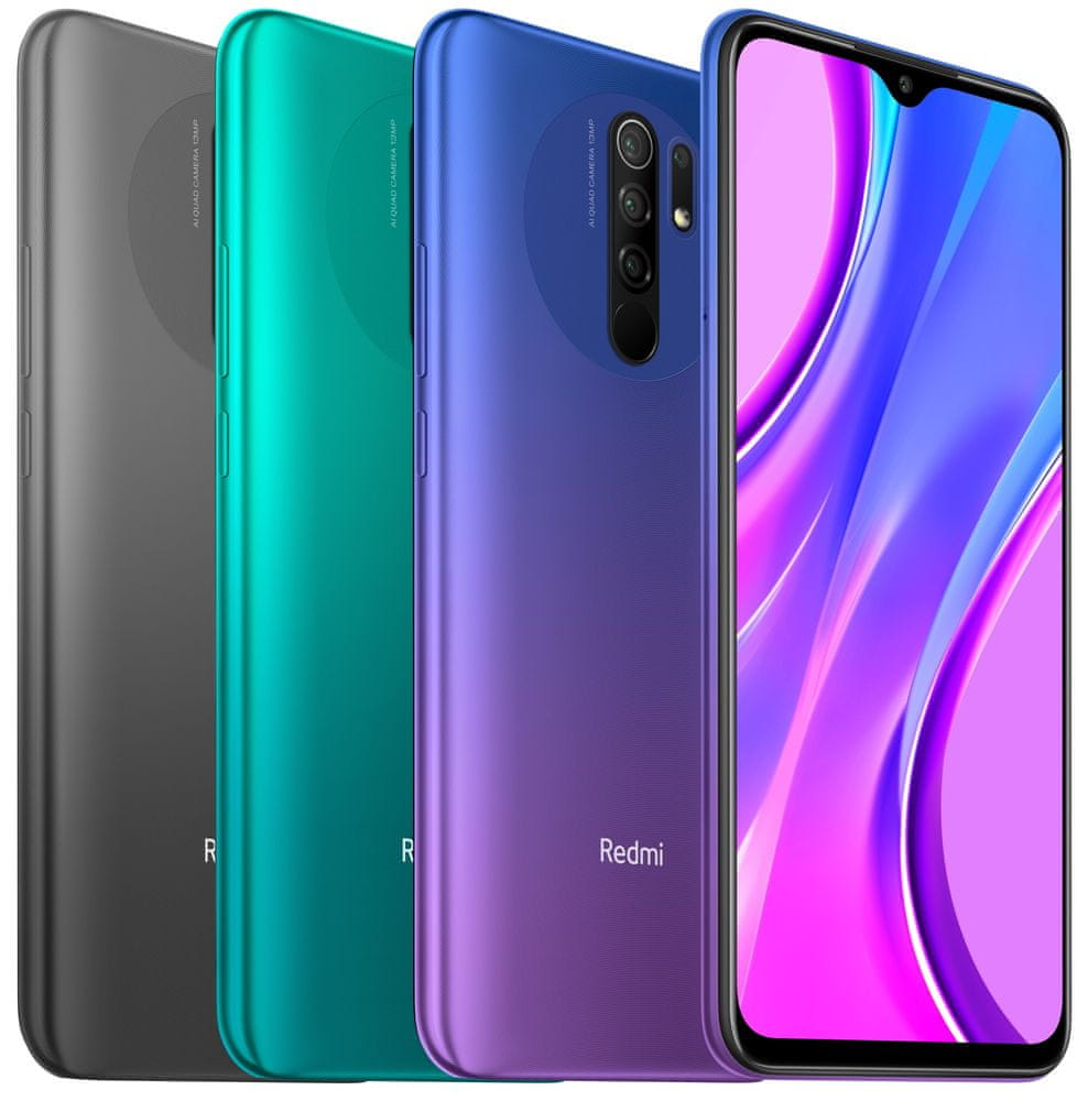 Xiaomi Redmi 9, 4GB/64GB, Global Version, Ocean Green