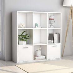 shumee Knižnica, biela 98x30x98 cm, drevotrieska
