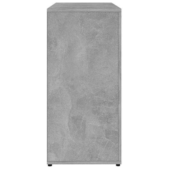 shumee Szafka, szarość betonu, 80x36x75 cm, płyta wiórowa