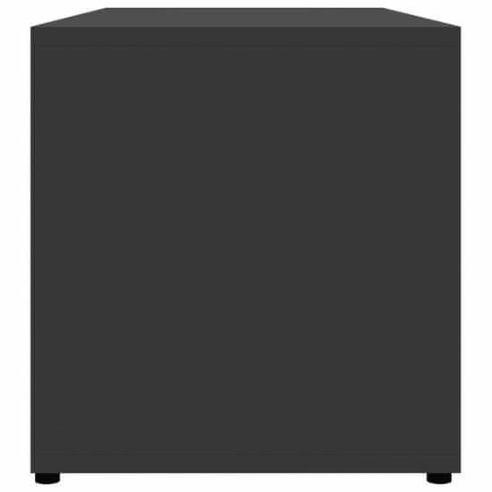 shumee Szafka pod TV, szara, 80x34x36 cm, płyta wiórowa