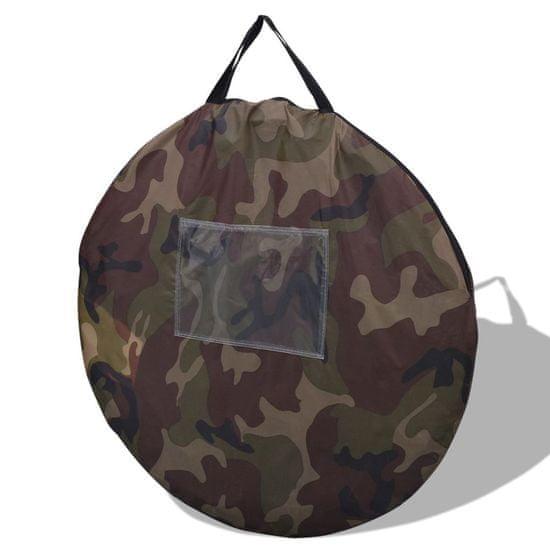 shumee Pop-up šotor za 2 osebi kamuflažne barve