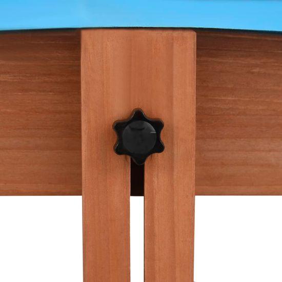 shumee Peskovnik s streho iz lesa jelke 122x120x123 cm