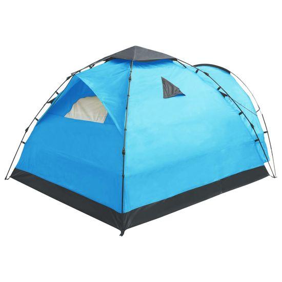 shumee Pop up šotor za kampiranje za 3 osebe moder