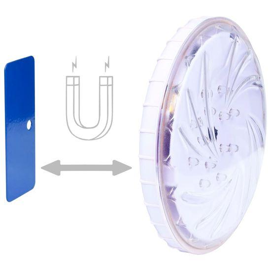 shumee Potopna plavajoča LED svetilka za bazen z daljincem večbarvna